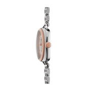 The Gomelsky 36mm, Silver/Rose Gold