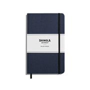 Hard Linen Ruled Journal - Navy