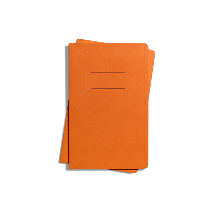 Medium Paperback Journal - Orange