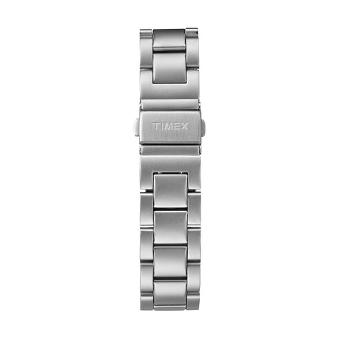 Allied 40 - Stainless Steel Bracelet, White Dial