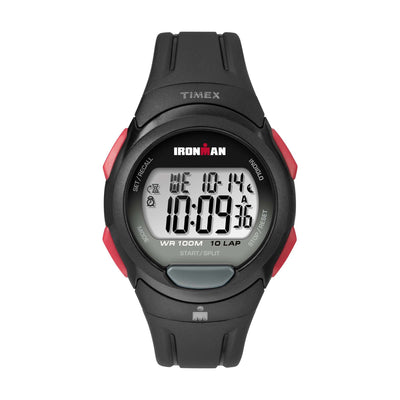 Ironman Essential 10 Full Size 39mm - Black/Red