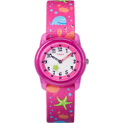 Kids Analog 28mm - Pink Strap Ocean