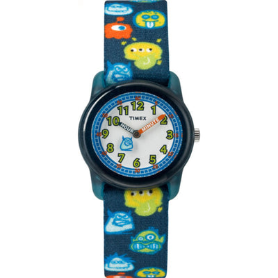 Kids Analog 28mm - Black Strap Monster