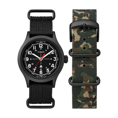 Todd Synder Military 40mm - Black /Olive