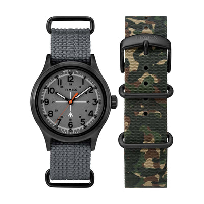 Todd Synder Military 40mm- Gray/ Black