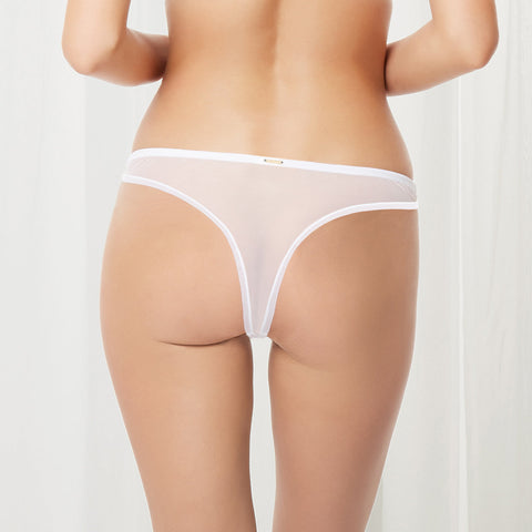 MORE Aviana String Blanc