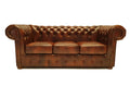 Chesterfield Sofa Class 3-seater Cloudy Brown Light