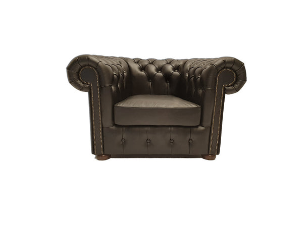 Chesterfield Armchair Class Shiny Black