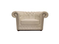 Chesterfield Armchair First Class White