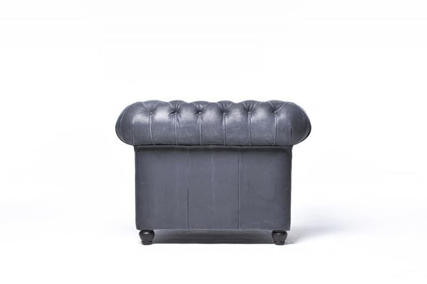 Chesterfield Vintage Armchair Black