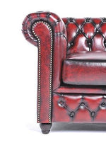 Chesterfield Original 2-Seat Sofa Wash Off Red
