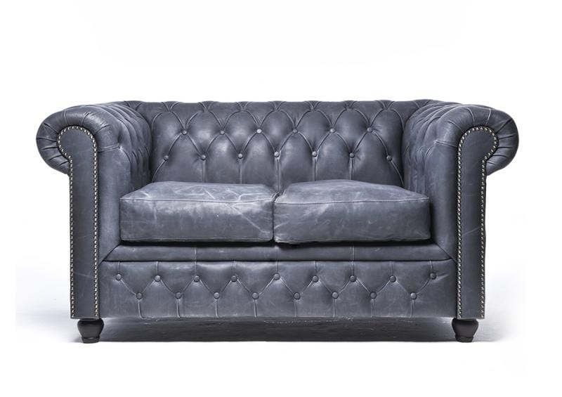 Cool Chesterfield Vintage 2 Seat Sofa Black Forskolin Free Trial Chair Design Images Forskolin Free Trialorg
