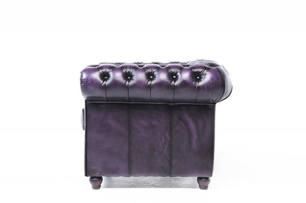 Chesterfield Original 3-Seat Sofa Wash Off Purple