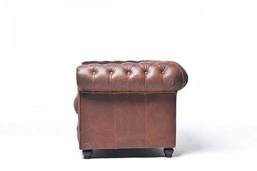 Chesterfield Vintage 5-seat Sofa Mocca