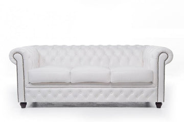 Chesterfield Original 3-seat Sofa White