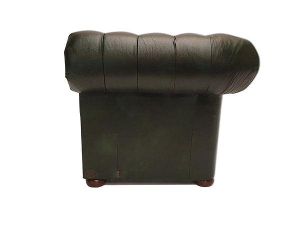 Chesterfield Sofa Class 3-seater Cloudy Green