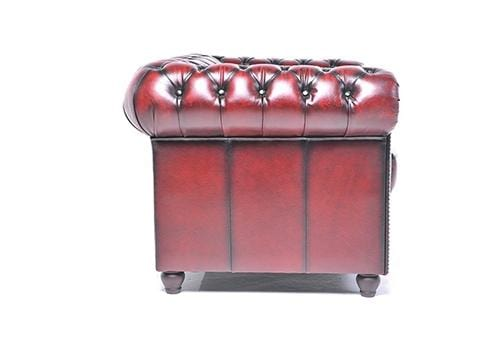 Chesterfield Original 4-seat Sofa Wash Off Red