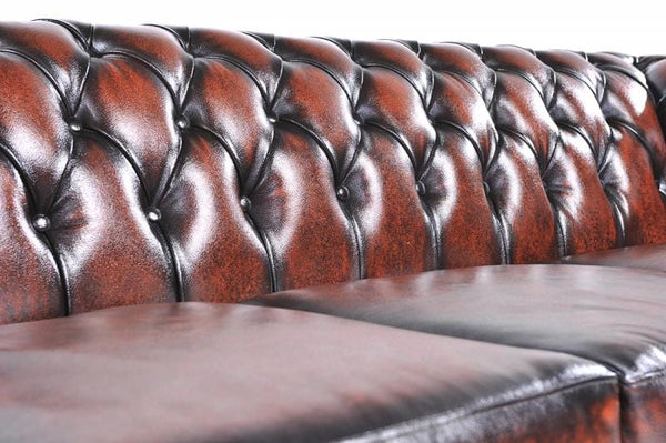 Chesterfield Original 4-seat Sofa Wash Off Brown