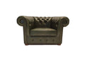 Chesterfield Armchair Class Cloudy Green