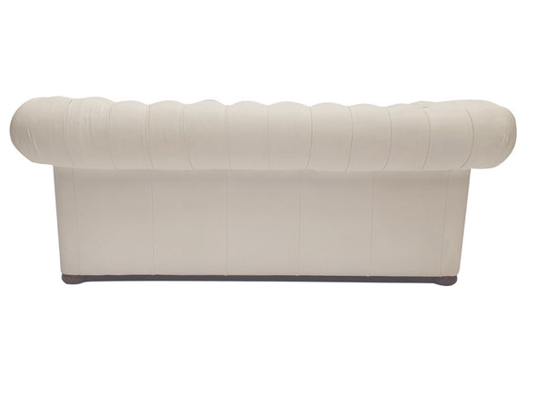 Chesterfield Sofa Class 3-seater White