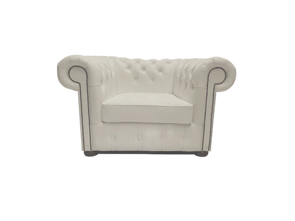 Chesterfield Armchair Class White