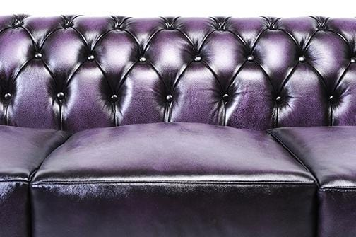 Chesterfield Original 5-seat Sofa Wash Off Purple