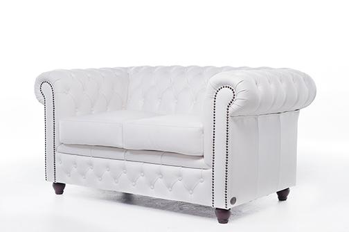 Chesterfield Original 2-Seat Sofa White