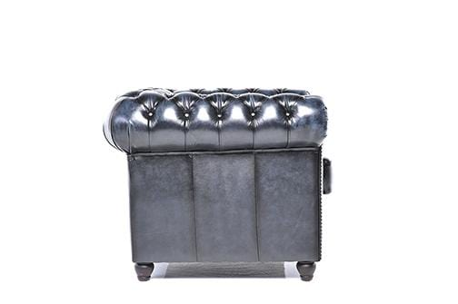 Chesterfield Original Armchair Wash Off Blue
