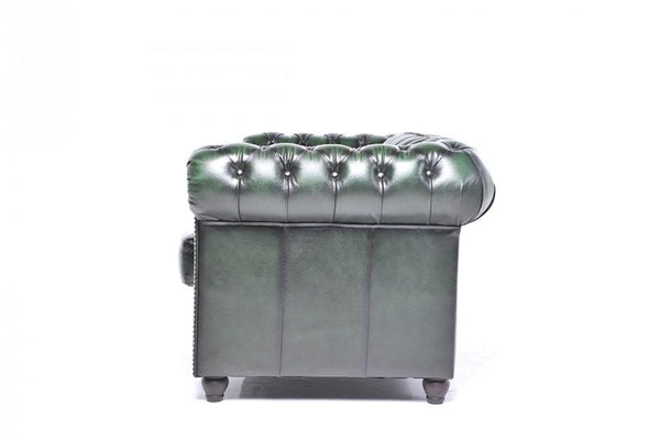 Chesterfield Original 6-seat Sofa Wash Off Green