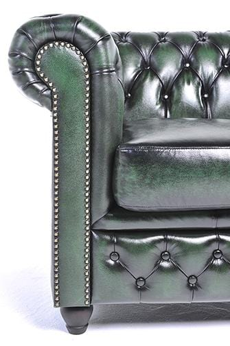 Chesterfield Original 5-seat Sofa Wash Off Green