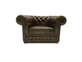 Chesterfield Armchair First Class Cloudy Green