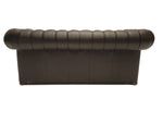 Chesterfield Sofa Class 3-seater Shiny Black