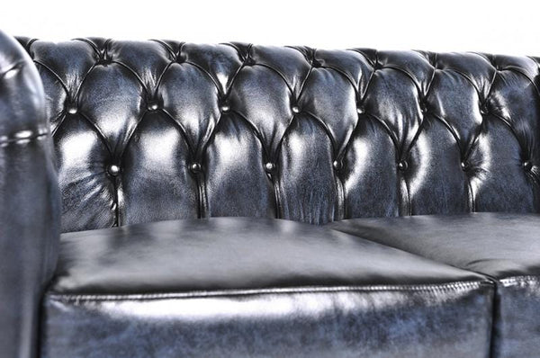 Chesterfield Original 4-seat Sofa Wash Off Blue