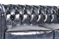 Chesterfield Original 5-seat Sofa Wash Off Blue