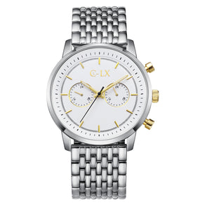 BALDWIN 45 SILVER / GOLD MENS WATCH