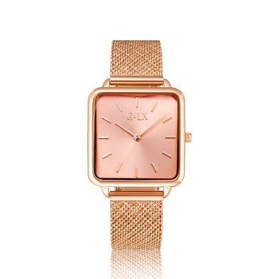 SEPTIMA LIGHT PINK ROSE GOLD LADIES WATCH