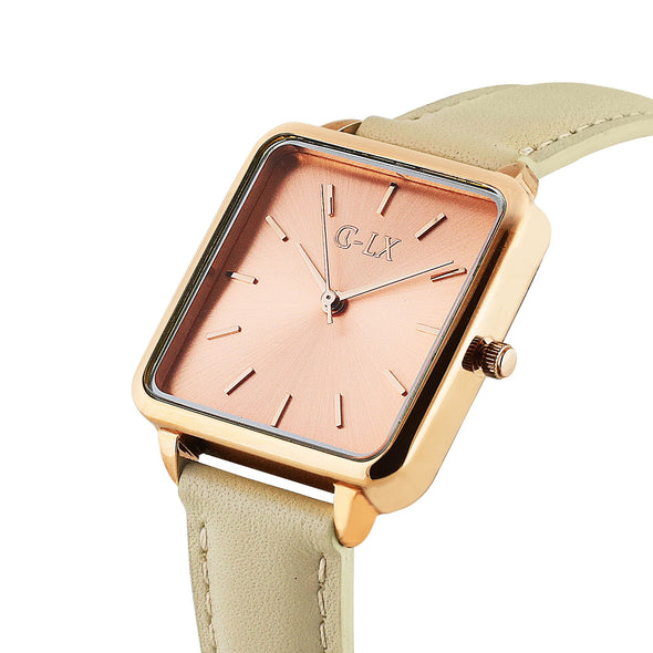 SEPTIMA LIGHT PINK ROSE LEATHER LADIES WATCH