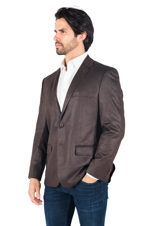286201 Norris Faux Jacket - Tabacco