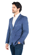 286400 Norris Faux Jacket - Blue