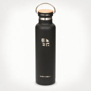 Earthwell Woodie Insulated Cold Drinks in Volcanic Black