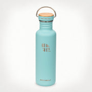 Earthwell Woodie Stainless Steel Water Bottle in Aqua