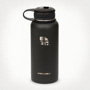 Earthwell Kewler Vacuum Insulated Water Bottle in Volcanic Black