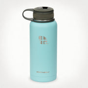 Earthwell Kewler  Double Walled Flask with Bottle Opener Cap (945ml) for Hot Coffe and Cold Drinks - Aqua Blue