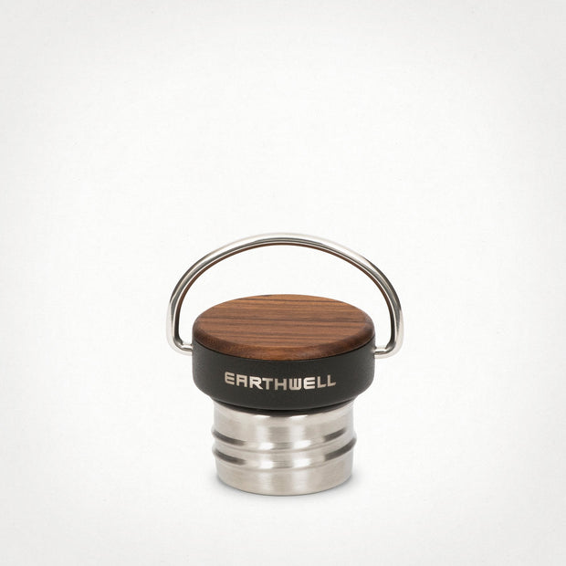 Eathwell Woodie Insulated Water Bottle Cap in Maple