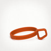 Earthwell Silicone LoopD™ Ring Handle in Mars Orange