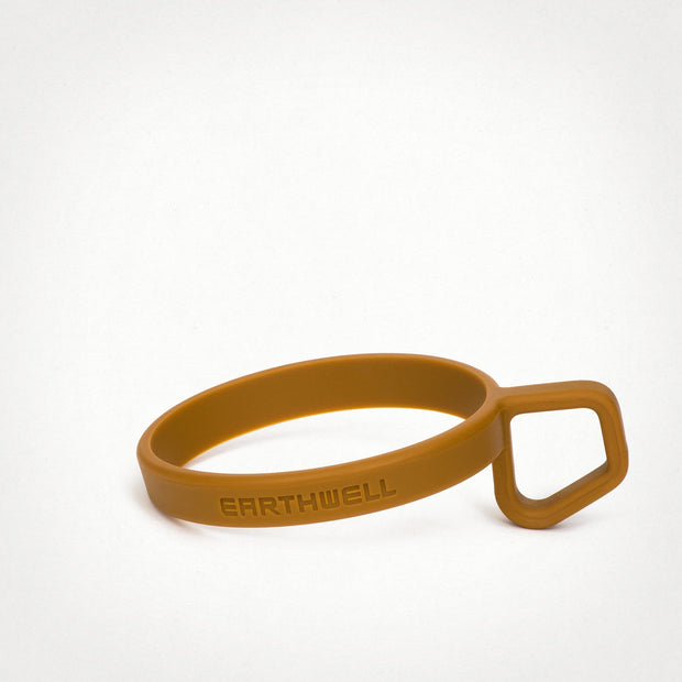 Earthwell Silicone LoopD™ Ring Handle in Whisky Brown