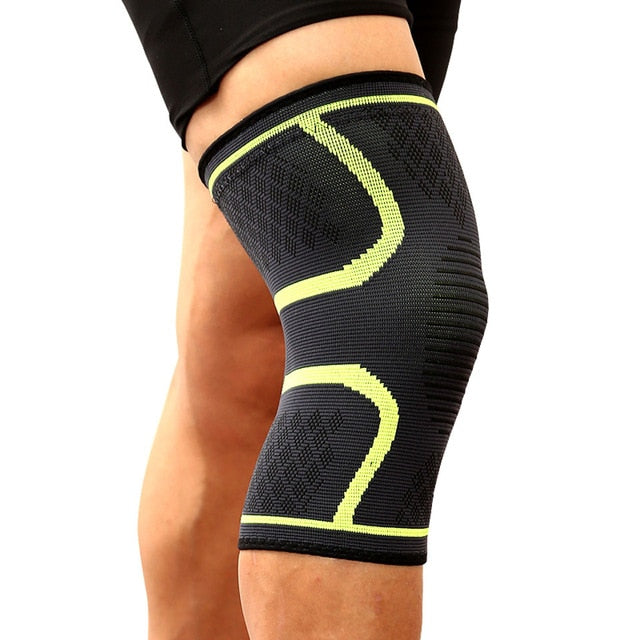 1PCS Fitness Running Cycling Knee Support Braces Elastic Nylon