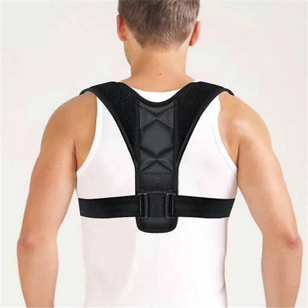 Adjustable Back Support Belt Back Posture Corrector Shoulder Back Support Belt