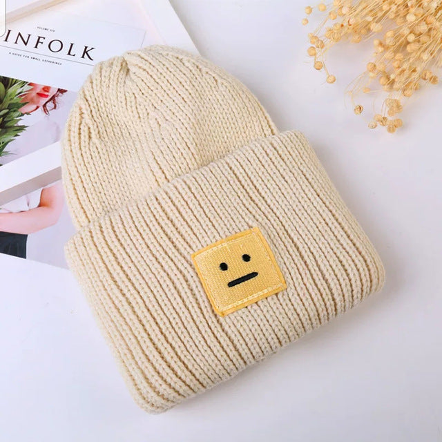 New Korean New Hat Autumn Winter Fashion Warm knit Cap