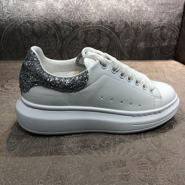 New women's leather casual women's shoes